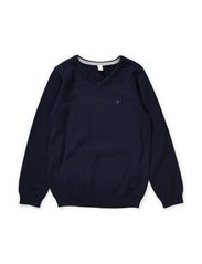 Sweaters - CINDER BLUE