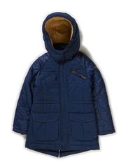Jackets outdoor woven - CINDER BLUE