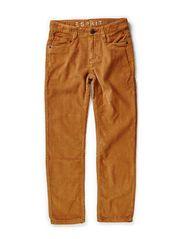 Pants woven - DEER BEIGE