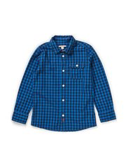 Shirts woven - BLUE SOUND