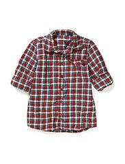 Shirts woven - CHILI RED