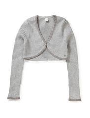 Sweaters cardigan - STONE GREY MEL