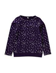 Sweatshirts - BLACKBERRY PURPLE