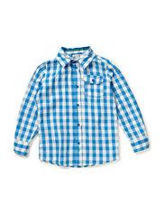 Shirts woven - REGATTA BLUE