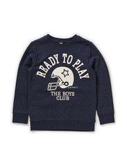 Sweatshirts - CINDER BLUE