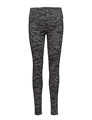 Pants knitted - DARK GREY 3