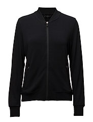 Sweatshirts cardigan - BLACK