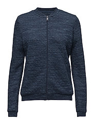 Sweatshirts cardigan - NAVY 2