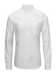 Oxford-Slim fit - WHITE