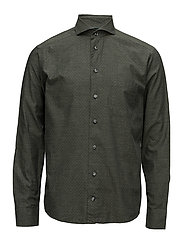 Lightweight Flannel slim - GREEN