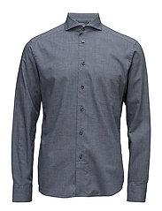 Lightweight Flannel slim - BLUE