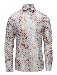 Ice Cream Print Shirt - PINK/RED