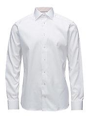 White Shirt – Micro Print Detail - WHITE