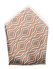 Pocket Squares - OFFWHITE/BROWN