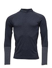 Zip Shirt LS m - SPACE BLUE