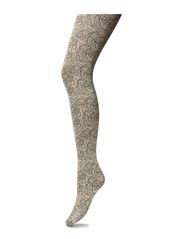 BLOSSOM ALLOVER TIGHTS - SESAME