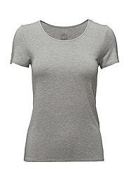 Leonora - T-shirt - GREY MELANGE