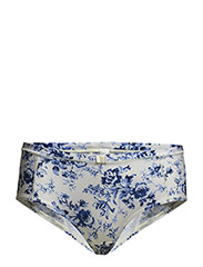 Helena - Pants - Angel blue w/print