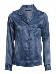 Lux - Shirt - Navy w/