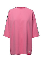 SS CREW NECK T-SHIRT - KNOCKOUT PINK