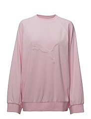 CREW NECK PULLOVER - PINK LADY
