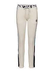 FITTED TRACK PANT - VANILLA ICE