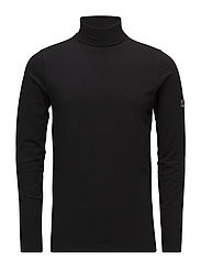 19TH ROLL NECK - BLACK