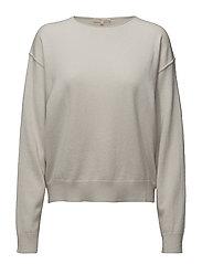 Cashmere Sweater - PORCELAIN