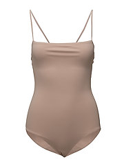 Strap Swimsuit - PALE PINK