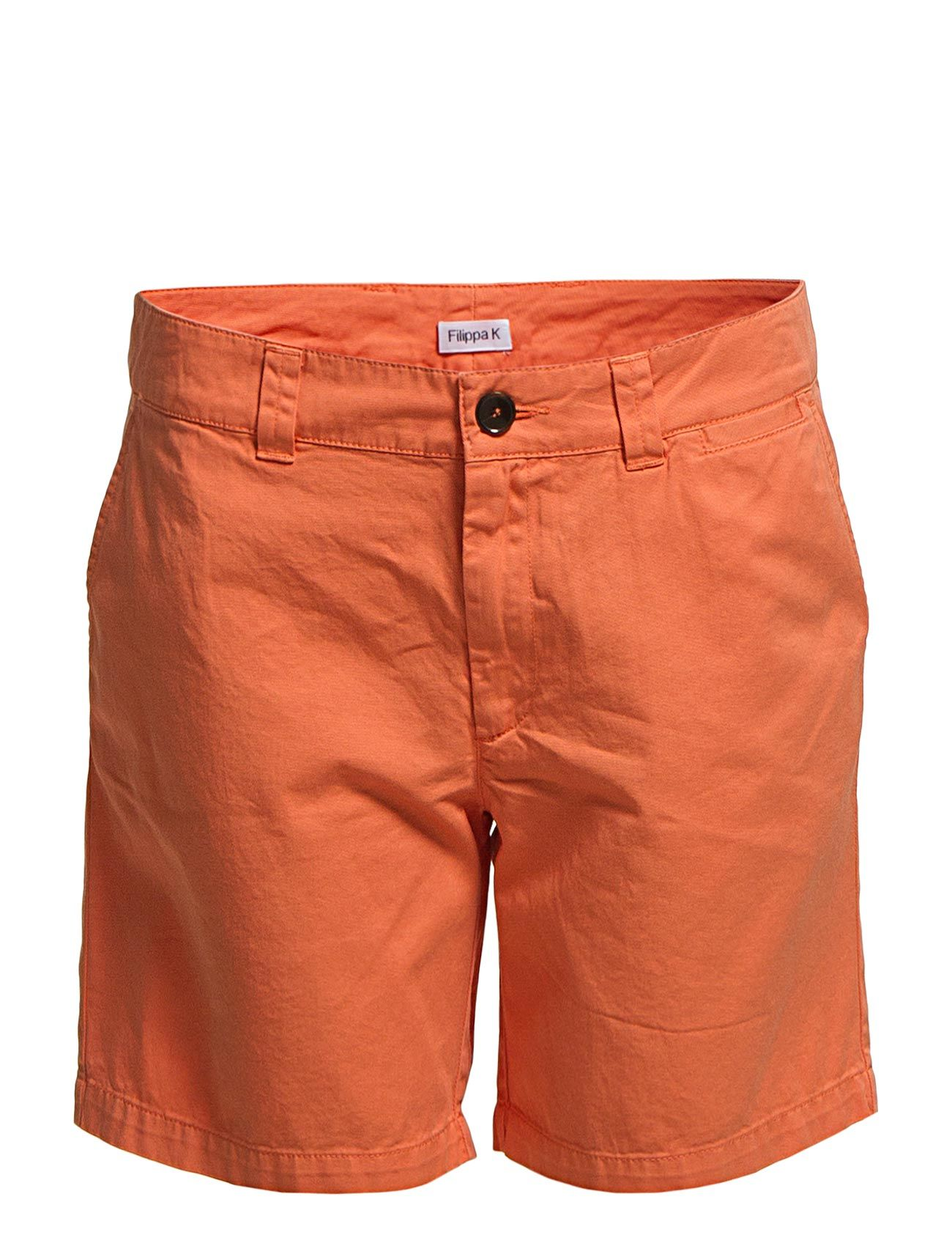 Rita Twill Cotton Chino Shorts