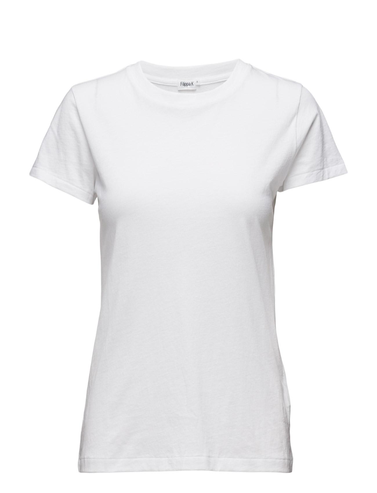 Cotton Tee Filippa K T-shirts & toppe til Kvinder i hvid