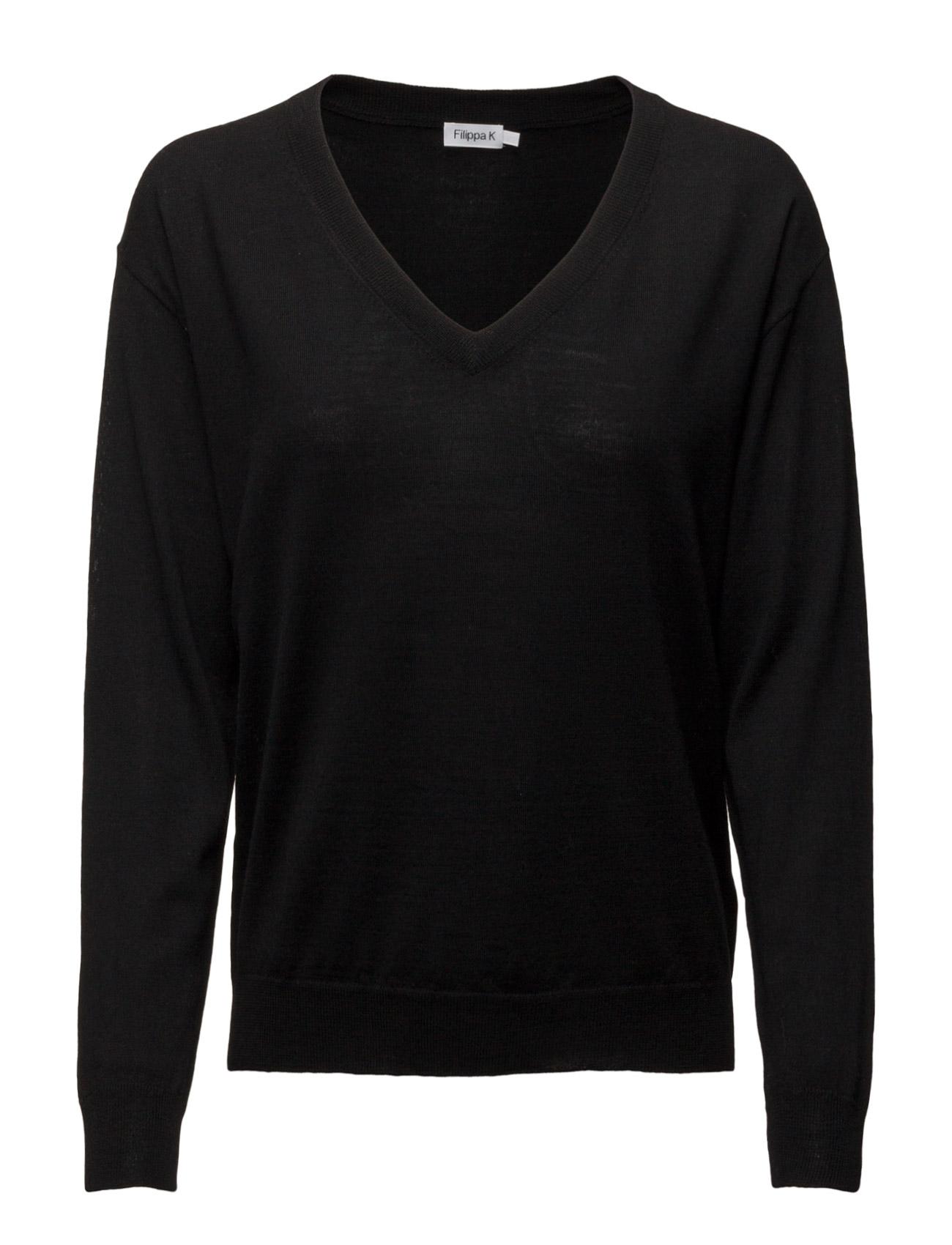 Merino V-Neck Pullover Filippa K Sweatshirts til Damer i