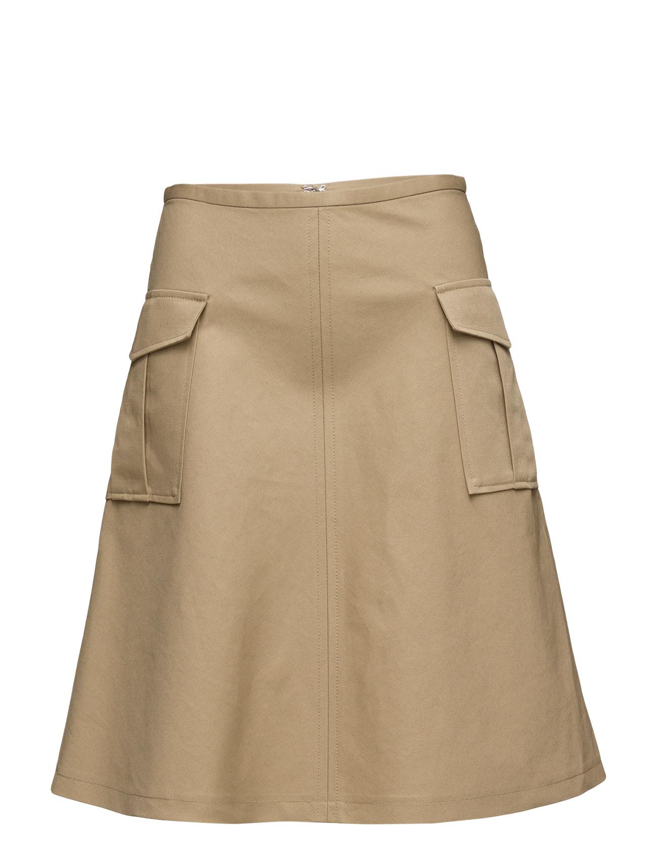 Filippa K Cotton Linen Pocket Skirt