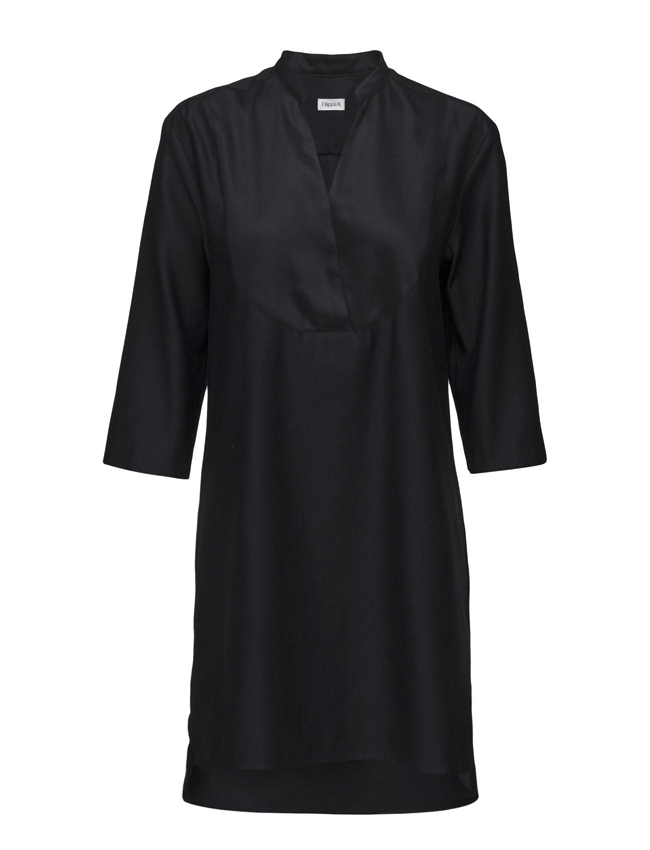 Tencel Tunic Dress Filippa K Knælange & mellemlange til Kvinder i Navy blå