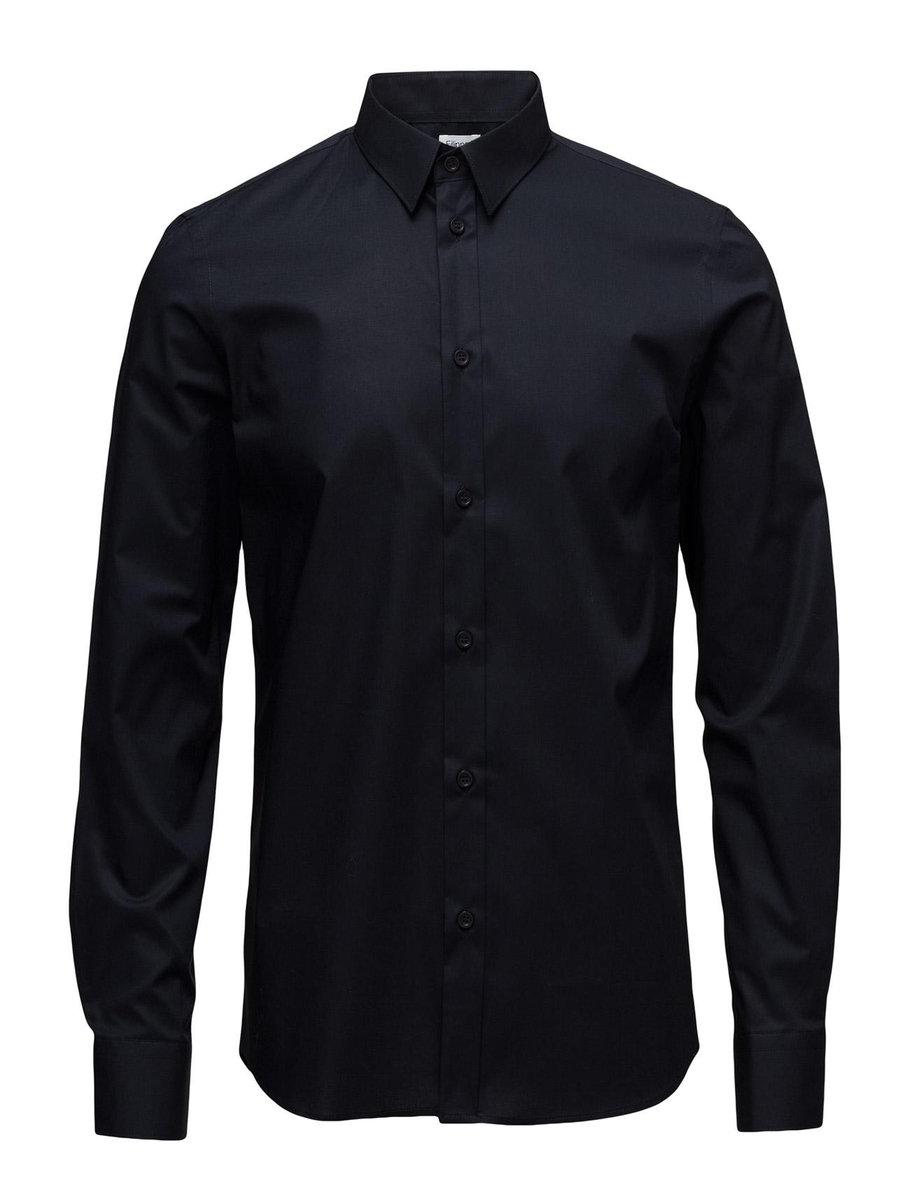 M. Paul Stretch Shirt Filippa K Business til Herrer i Navy blå