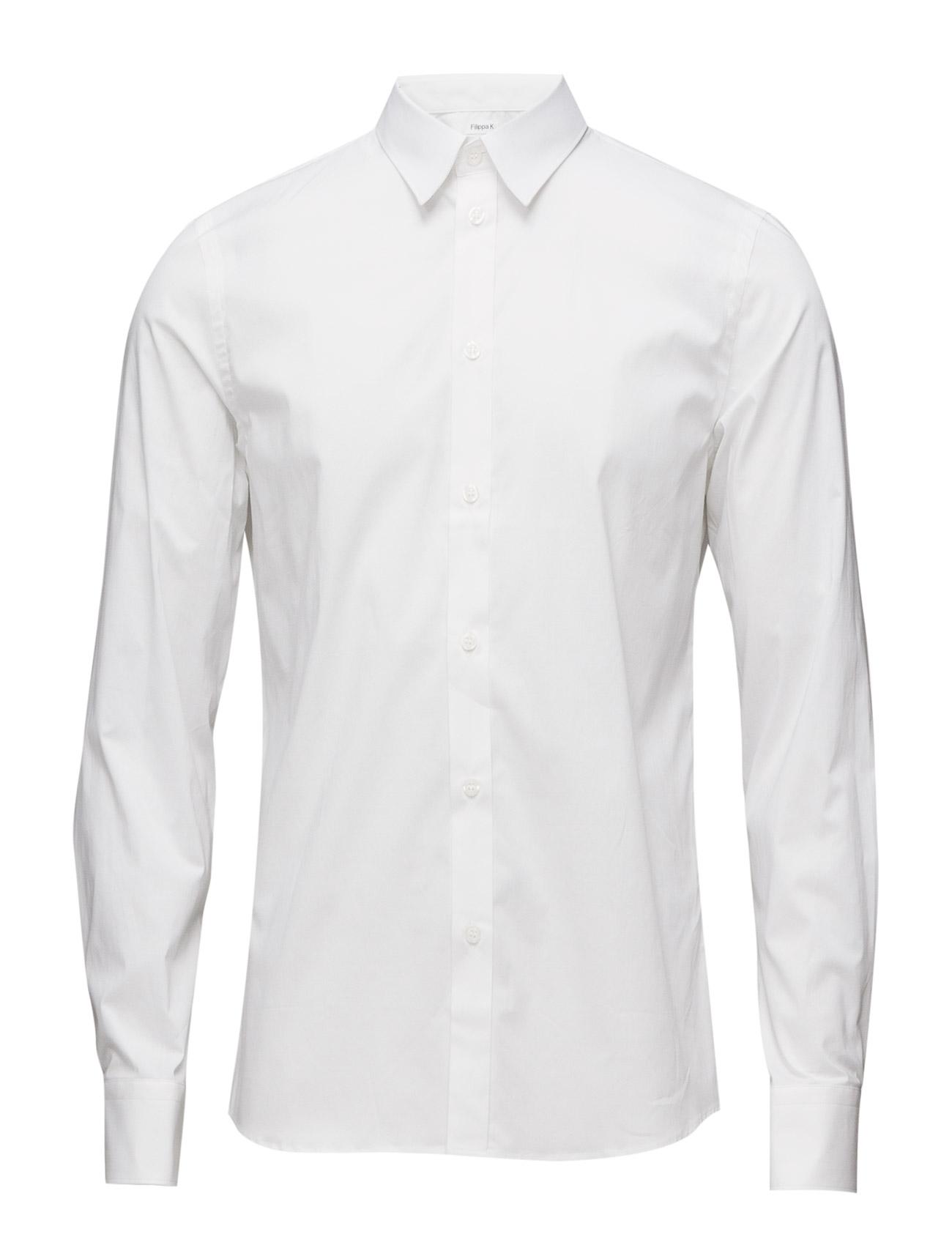 M. Paul Stretch Shirt Filippa K Business til Mænd i Lyseblå