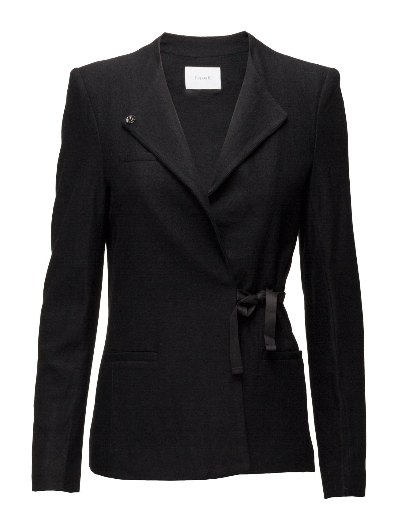Wool Jersey Jacket Filippa K Jakker til Kvinder i Sort
