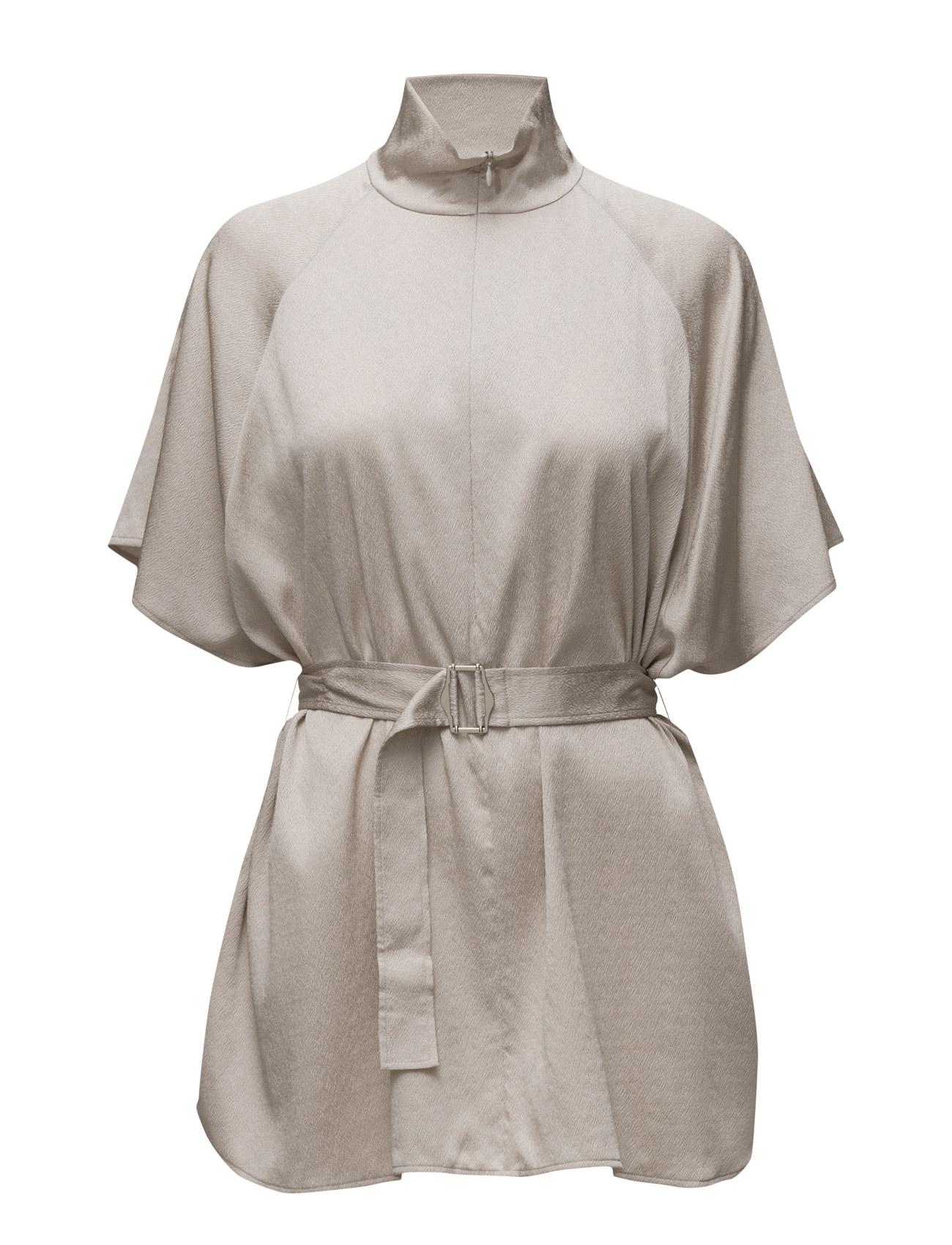 Zip Collar Belt Top Filippa K Bluser til Kvinder i Due
