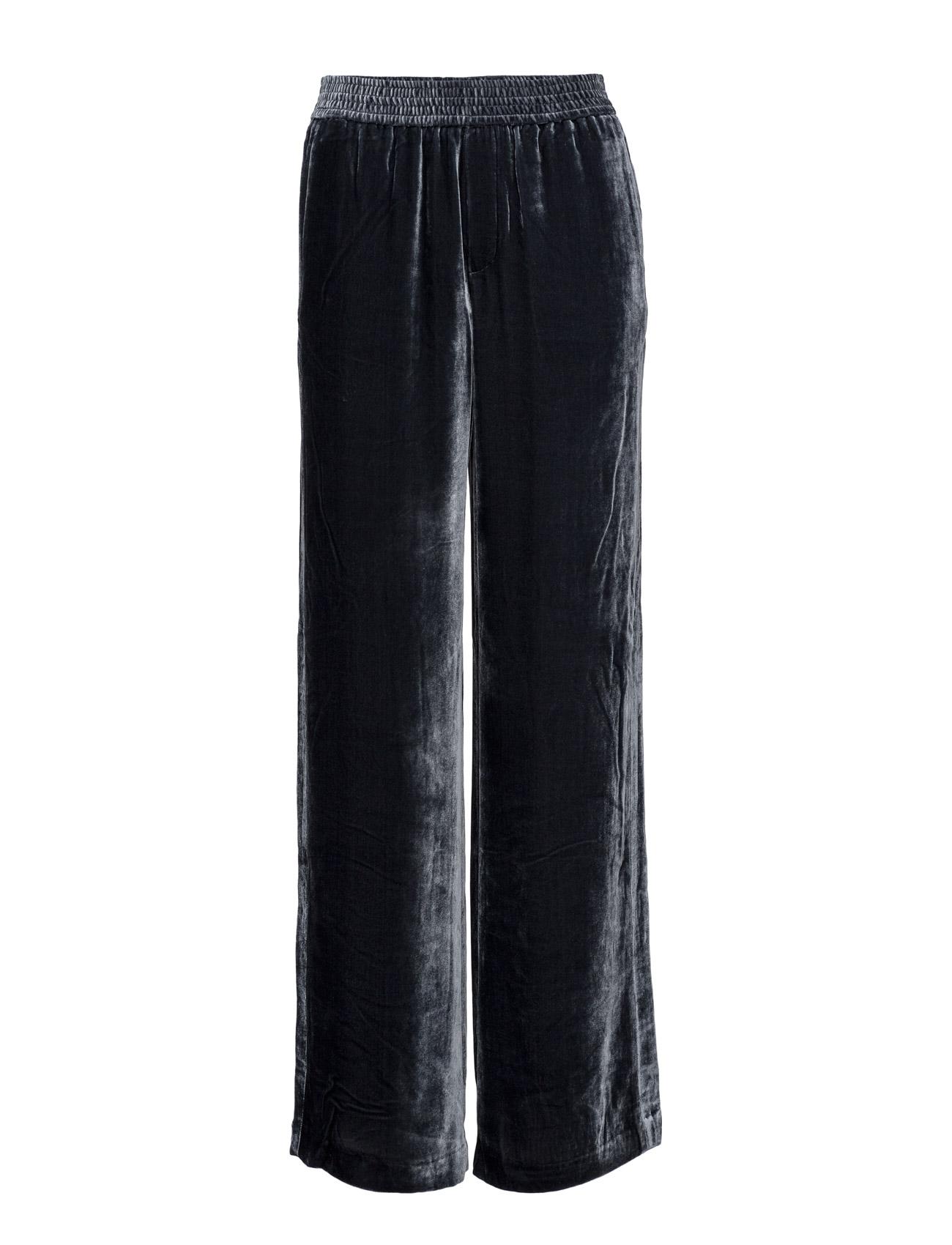 0e2e3f30b710 Sporty Velvet Pants Filippa K Bukser til Kvinder i Blå graf