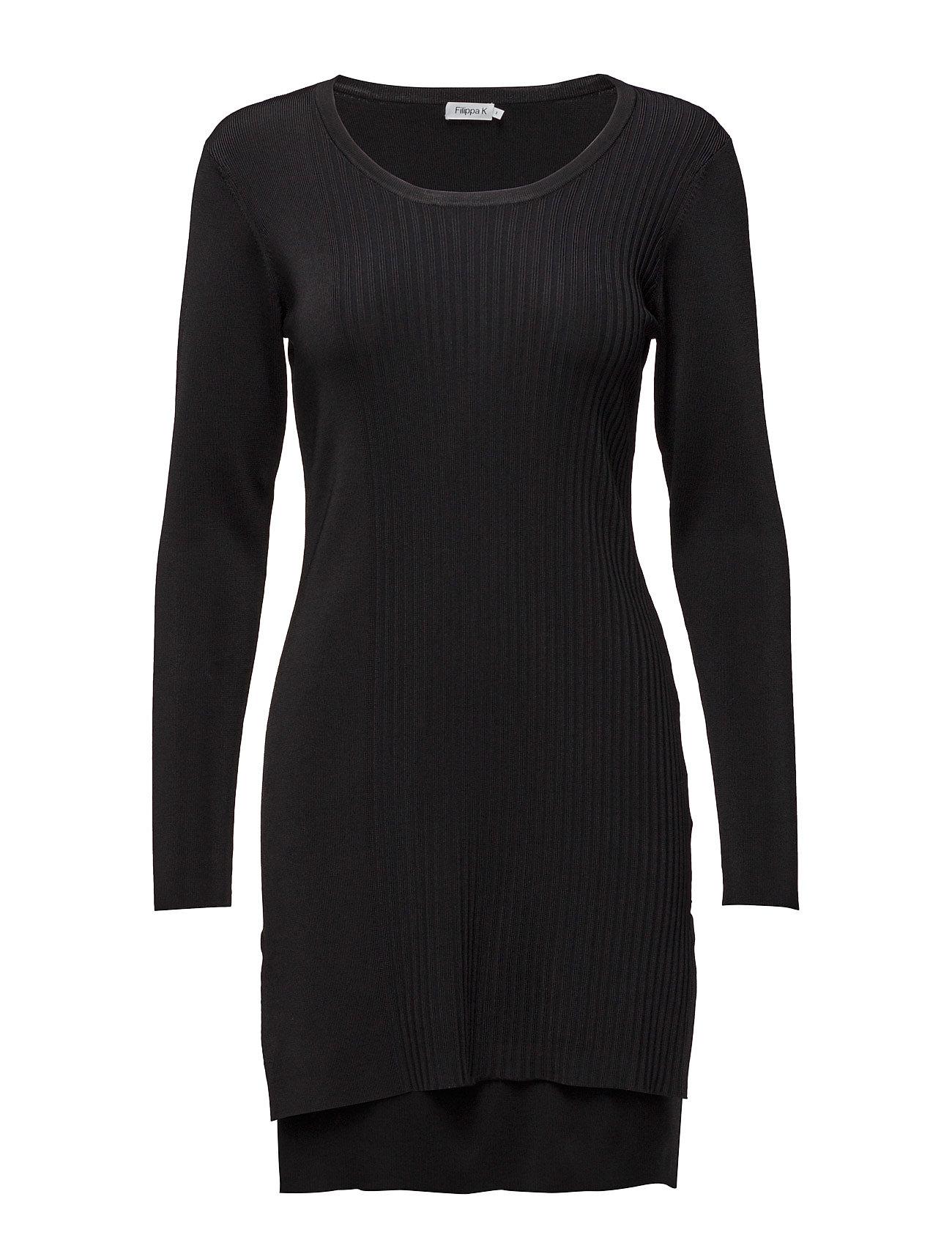 Shiny Rib Tunic Filippa K Korte kjoler til Damer i Sort
