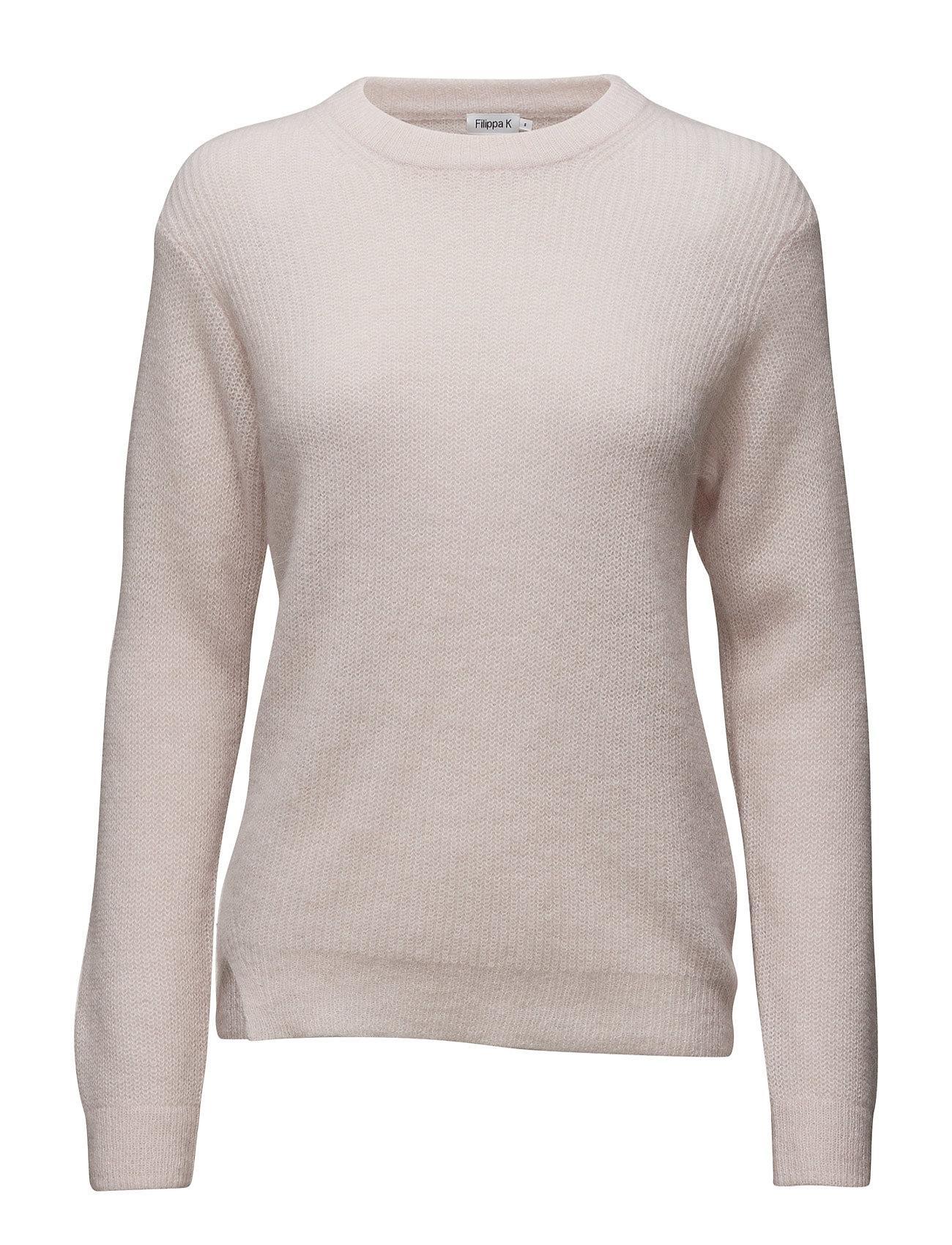 Rib Alpaca Pullover Filippa K Sweatshirts til Kvinder i chiffon Me