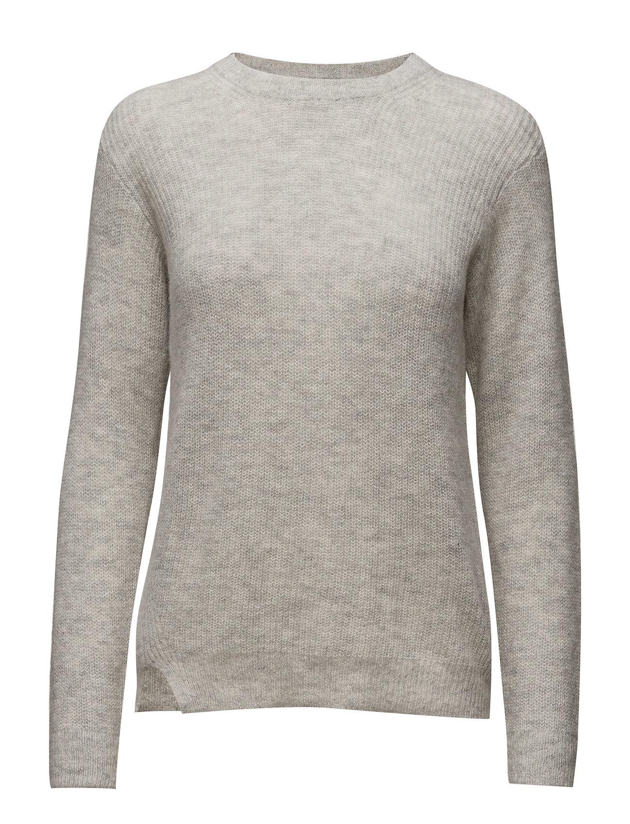 Rib Alpaca Pullover Filippa K Sweatshirts til Damer i Lysegrå