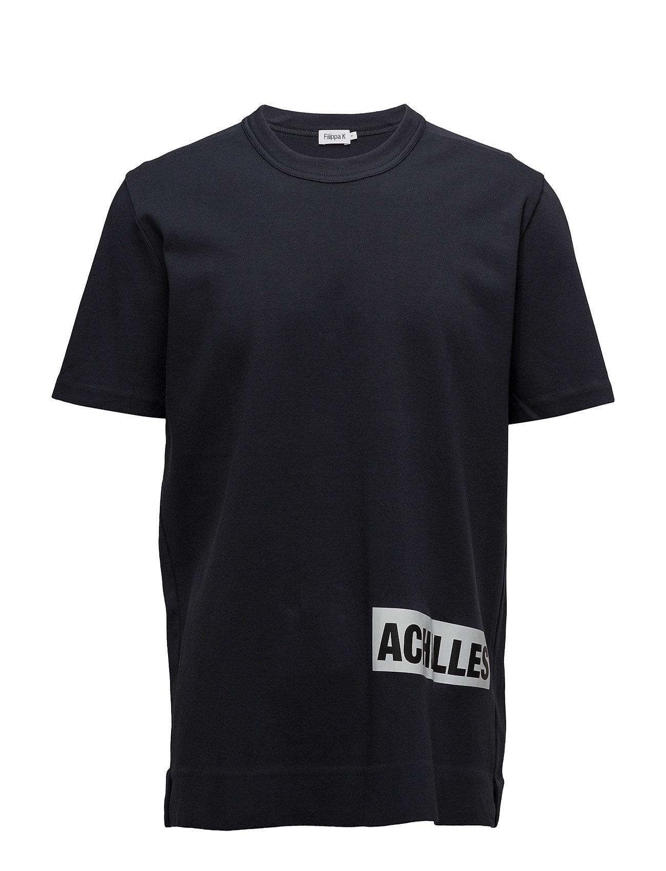 M. Adrian Cotton Interlock Tee Filippa K T-shirts til Mænd i Navy blå