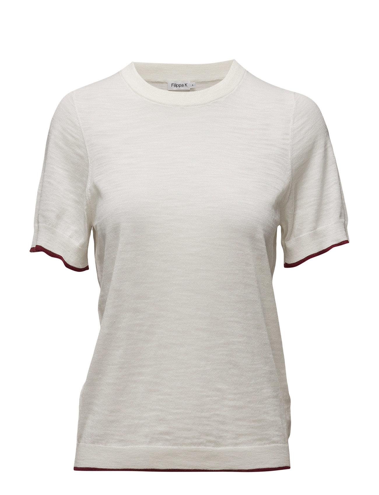 Cotton Silk Tee Filippa K Sweatshirts til Damer i Off White