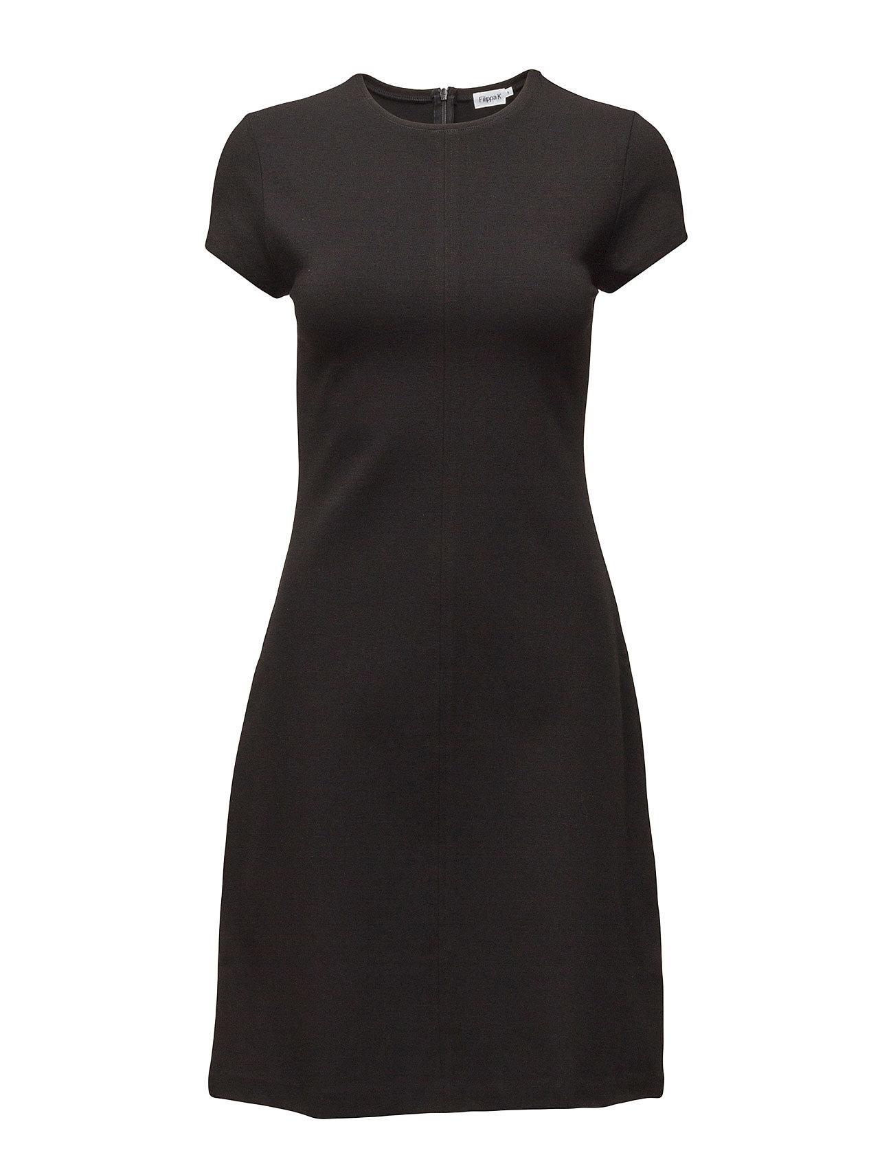 Crew Neck Dress Filippa K Kjoler til Kvinder i Sort