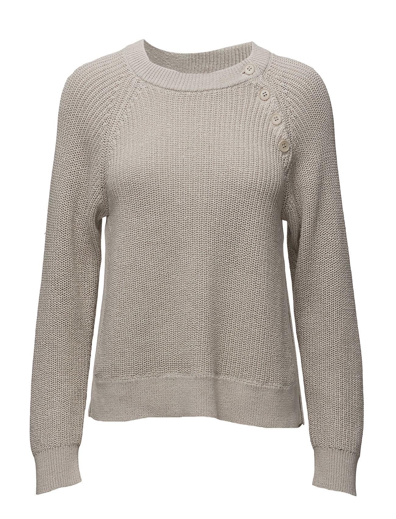 Cotton Mix Slit Pullover Filippa K Sweatshirts til Damer i Linned
