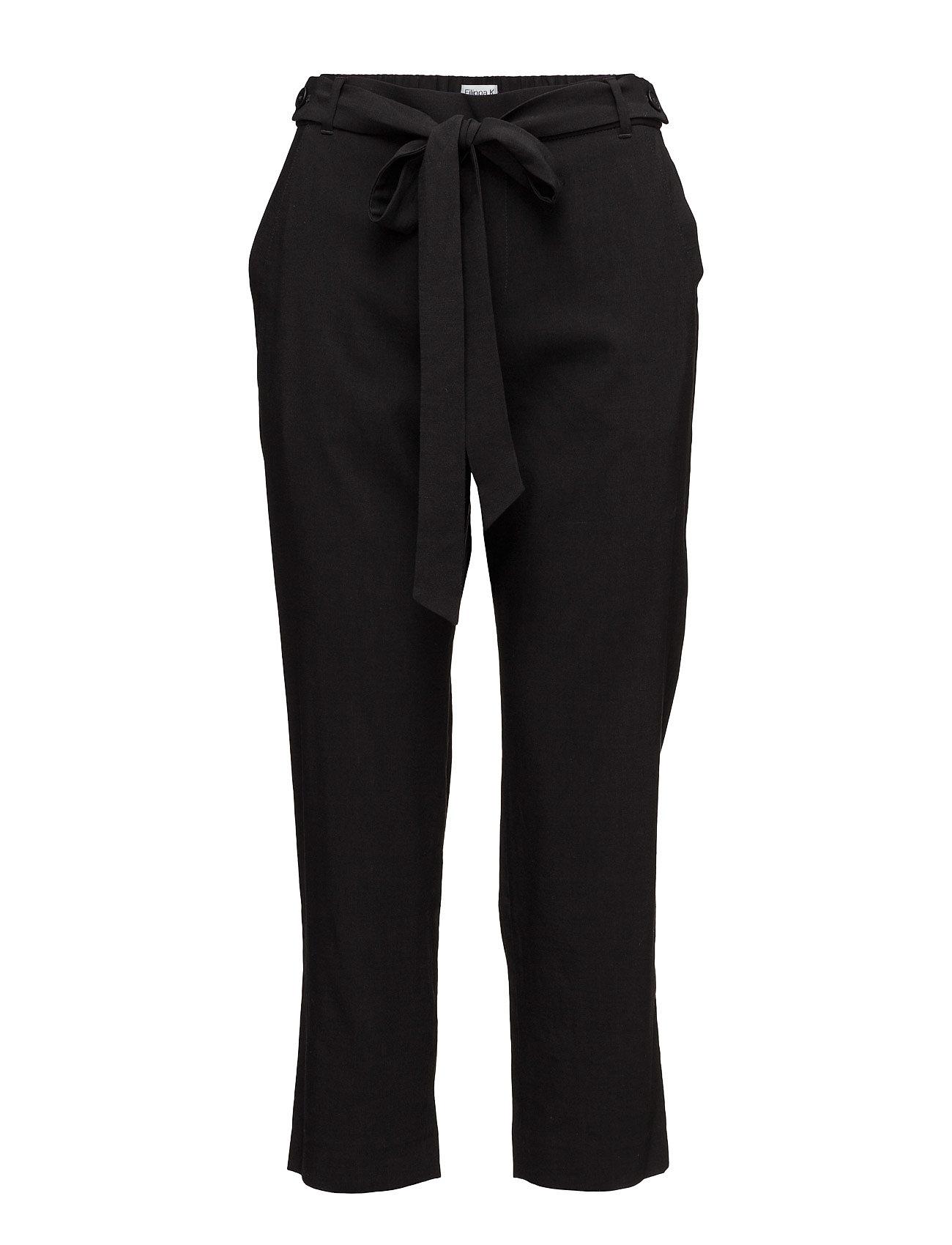 Lan Cropped Pants Filippa K Bukser til Damer i Sort