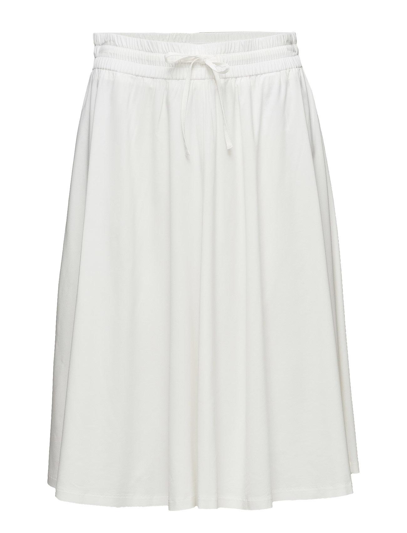 Adie Flowy Skirt Filippa K Knælange & mellemlange til Damer i Off White