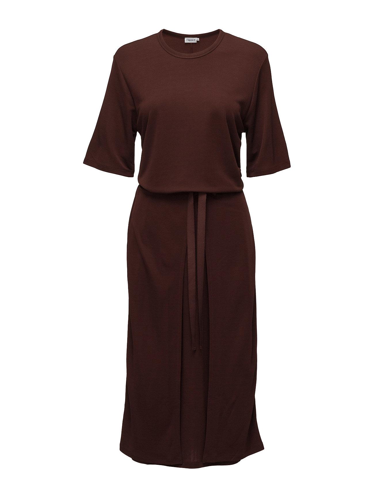 Double Wrap Jersey Dress Filippa K Knælange & mellemlange til Damer i