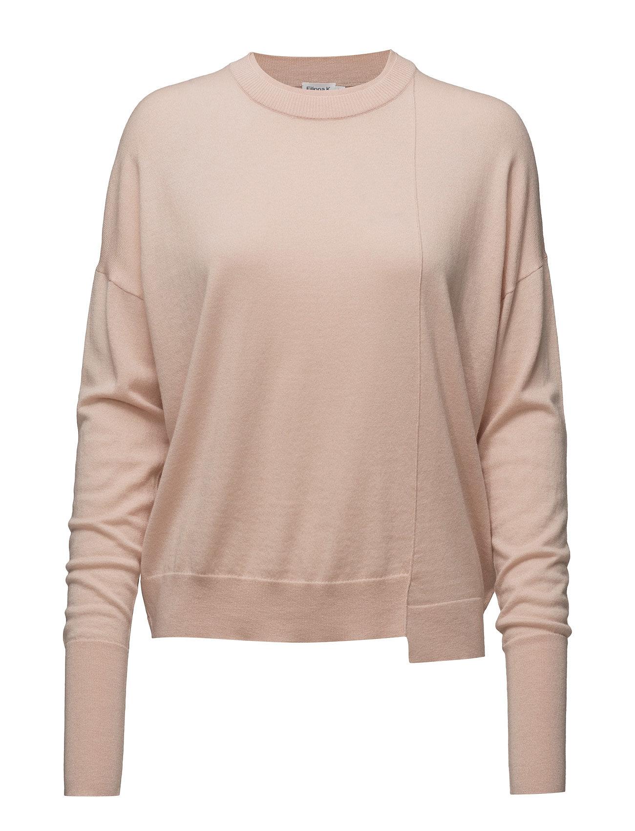 Asymmetric Drapey Pullover Filippa K Sweatshirts til Damer i Rødme